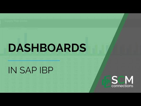 4 Tips for Building a Custom Analytics Dashboard with SAP IBP