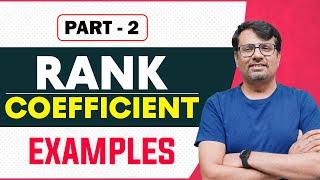 Rank Correlation | Repeated Rank Correlation | Spearman Rank Correlation