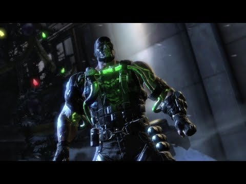 Batman: Arkham Origins - Capturing Joker/First Bane Boss Fight