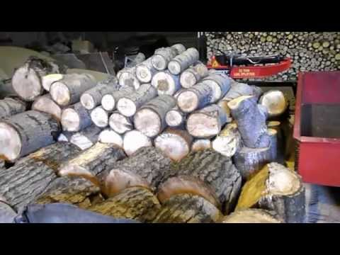 Wood cutting, splitting, stacking season 2015 - Mark's Life