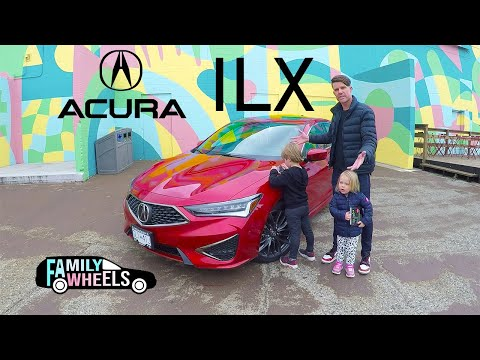 2019 Acura ILX A-Spec Review From Family Wheels: Is the baby Acura big enough?