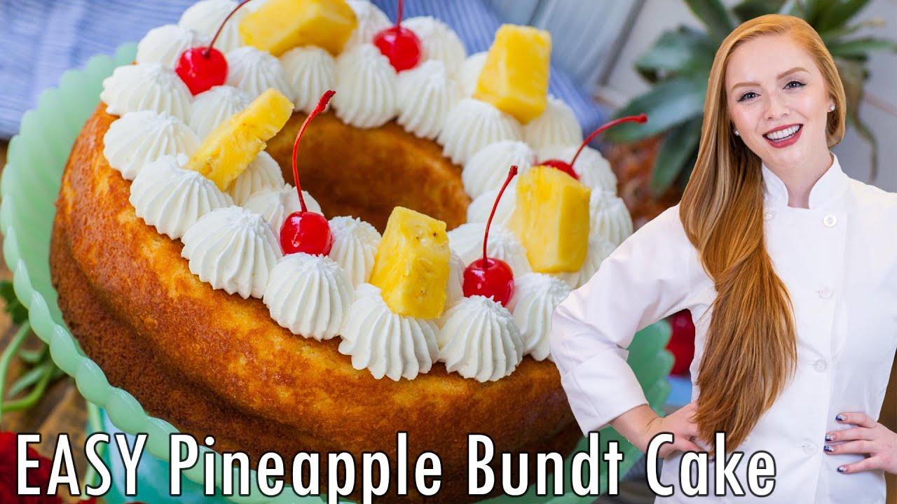 Youtube Pineapple Bundt Cake