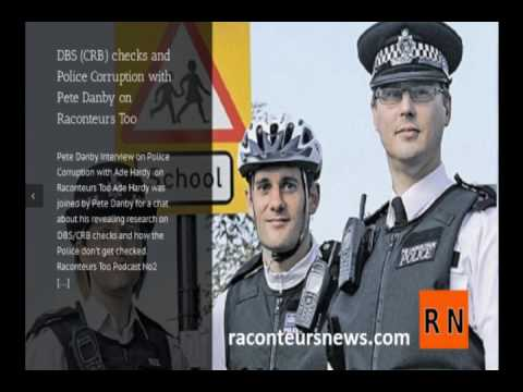 Pete Danby Interview on Police Corruption with Ade Hardy  on