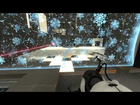 Portal2 :The Winter Testing Initiative (Must Play)