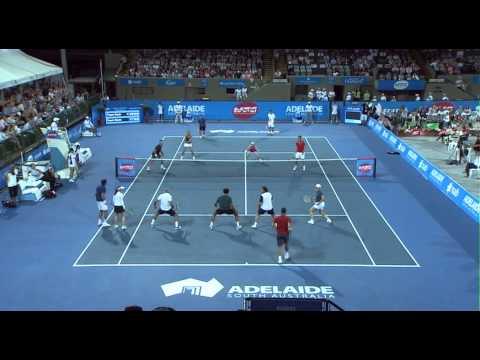Team Cash vs Team Noah Highlights - World Tennis Challenge 2014