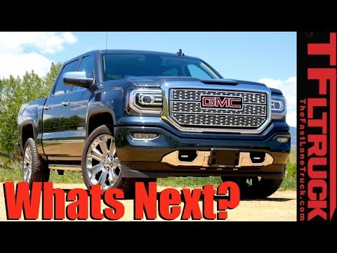 GM Pickup Trucks: What's Next for 2019 and Beyond?