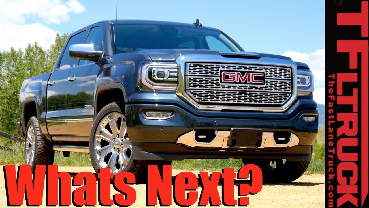 Half Ton Truck >> GM Pickup Trucks: What's Next for 2019 and Beyond? - YouTube