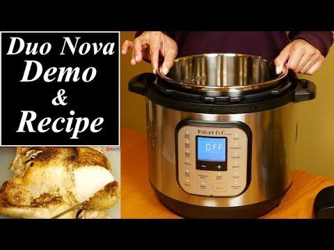Instant Pot Duo Nova Review and Demo Recipes