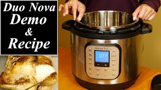 Instant Pot Duo Nova Review and Demo Recipes