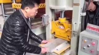 Станок по изготовлению плитки под скалу(Компания КитайКамень предлагает оборудование по обработке натурального гранита и мрамора а так же инструм..., 2015-01-22T03:23:45.000Z)
