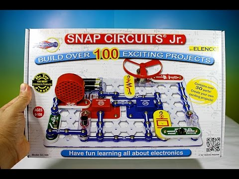 Snap Circuit Jr - Unboxing Toy Review