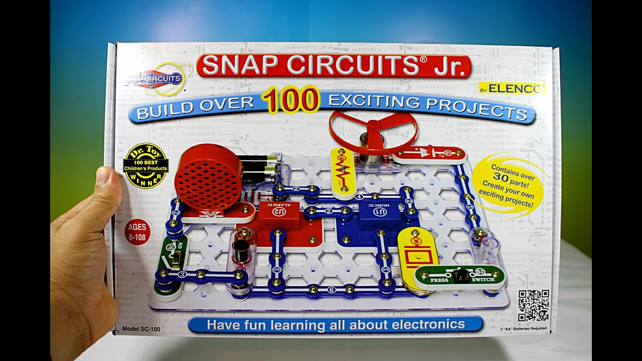snap circuit jr unboxing toy review youtube rh youtube com