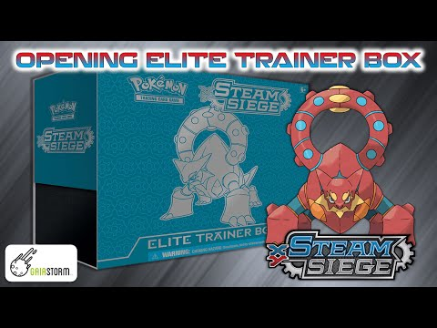 APERTURA CARTAS POKÉMON: ELITE TRAINER BOX STEAM SIEGE/ASEDIO DE VAPOR
