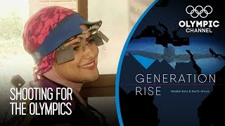Iran's 19 year-old Sports Shooter Hits the Mark and Aims Higher | Generation Rise