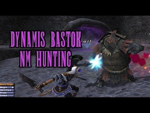 FFXI - Dynamis Bastok NM Hunting  - 4/19/2018