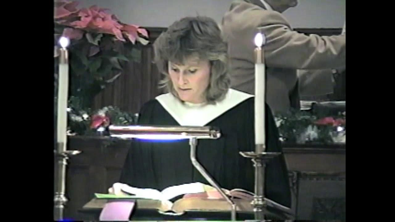 Christmas Cantata  12-14-97