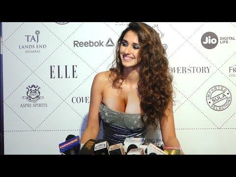 Disha patani looking stunning at Red Carpet || star stud beauty award thumbnail