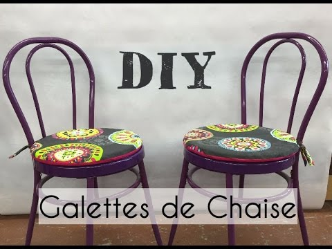 r alisez vos galettes de chaises youtube. Black Bedroom Furniture Sets. Home Design Ideas