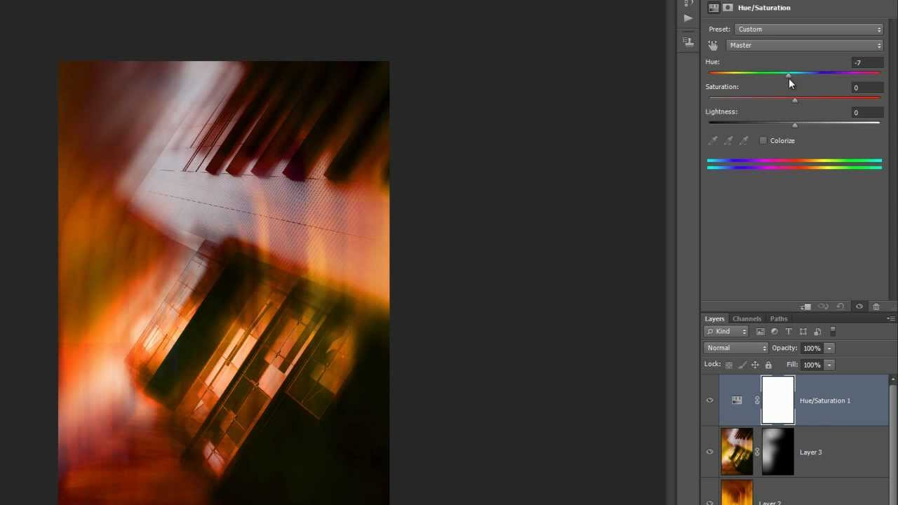Architectural blur and Texture in Photoshop CS6 - YouTube