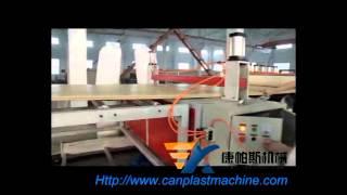 Pvc Wood Plastic Composite (wpc) Foam Board Line