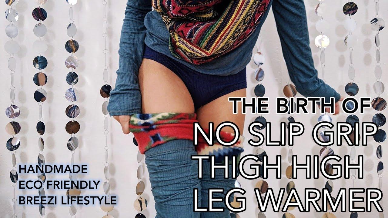 Birth of a No Slip Grip Leg Warmer