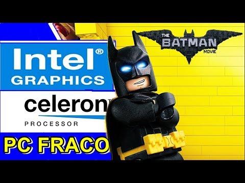LEGO BATMAN  - CELERON N2940 | INTEL HD GRAPHICS | 4GB RAM [PC FRACO]