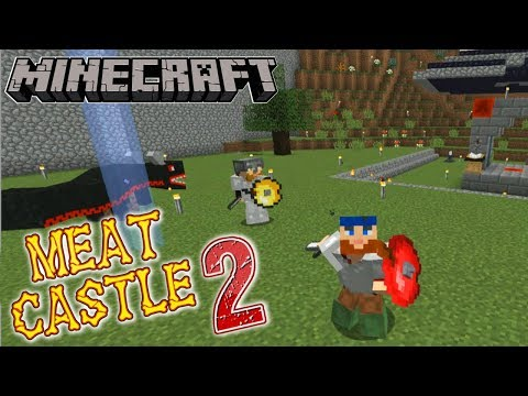 Minecraft | Meat Castle 2 | #14 PARTY TRAIN