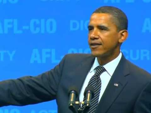 UNCUT: Obama's Speech At AFL-CIO Convention In Pittsburgh