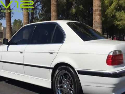 2001 BMW 740IL M PARALLELNAVIGATIONALPINE WHITESPORT PKGLONG WHEEL BASE Tempe Arizona