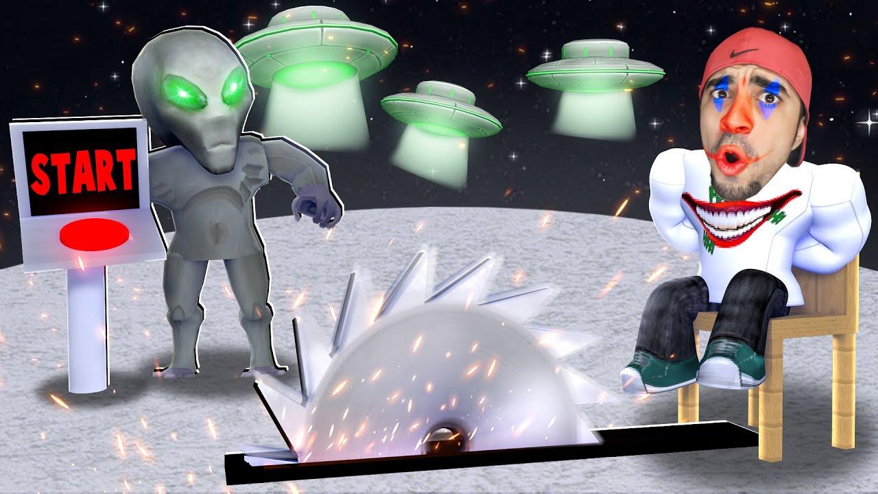 الفضائيين خطفونا في لعبة روبلوكس | ROBLOX