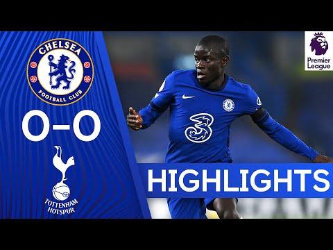 Chelsea 0-0 Tottenham Hotspur | Premier League Highlights