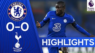 Chelsea 0-0 Tottenham Hotspur | Premier League Highlights
