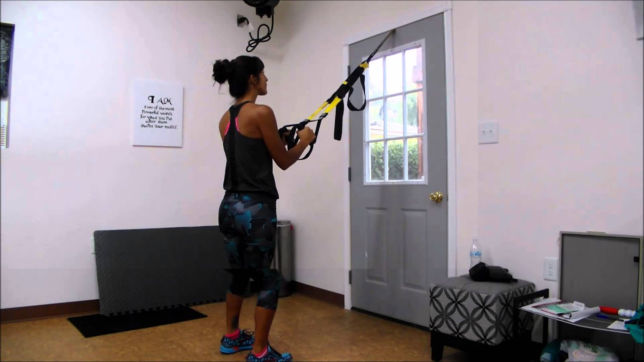 How To Use Trx For Hotel Workout Or Home Workout Youtube