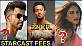War Film Starcast Fees Hrithik Roshan, Tiger shroff, Vaani Kapoor, War Trailer coming soon