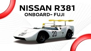 Nissan R381 'Monster Bird'(1968) :Onboard @ Fuji thumbnail