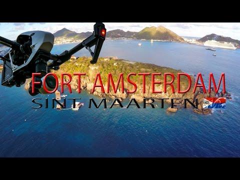Fort Amsterdam ~ Little Bay ~ Sint Maarten ~ Divi Bay ~ Best UAV Drone ~ WeBeYachting.com