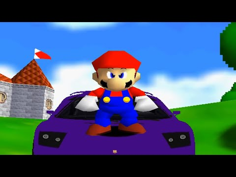 Super mario 64 bloopers: the cake that was a lie!