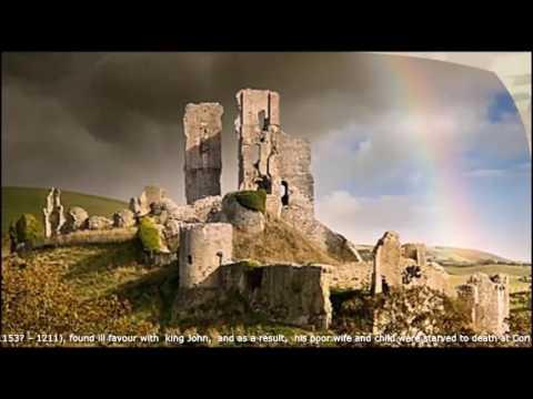 Haunting History Of ~Corfe Castle ~Dorset ~ England