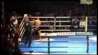 """Zambidis vs. Marban """"Diablo"""" 3rd round (KO)"""