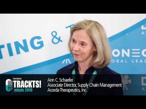 Interview: Ann Schaefer, Acorda Therapeutics | Pharma TRACKTS! 2016