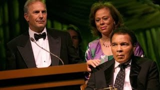 Kevin Costner`s Speech at Muhammad Ali Celebrity Fight Night 2008 #MuhammadAli