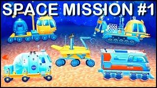 Build & Play Kids Space 3d Construction Puzzles Ipad App Demo Mars Jeep (big Trucks & Vehicles)
