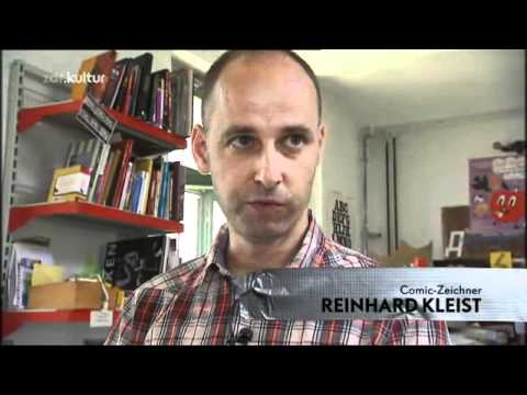 Im Atelier von Reinhard Kleist - Die Geschichte hinter dem Bild