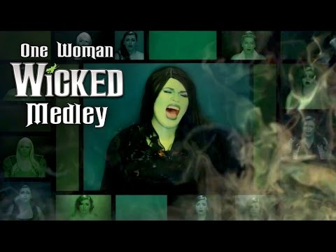 One Woman A Cappella Wicked Medley - Heather Traska