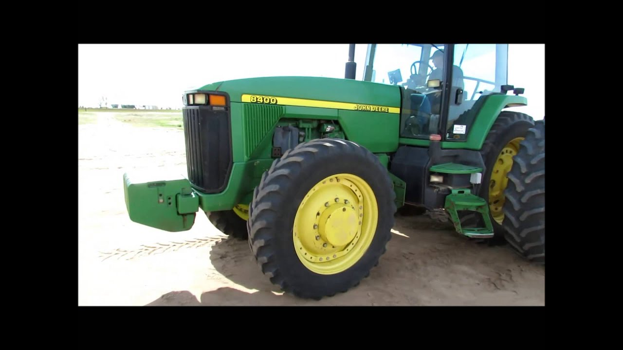 John Deere G Tractor For Sale Generator Wiring Diagram Pdf 1998 8400 Mfwd Sold At