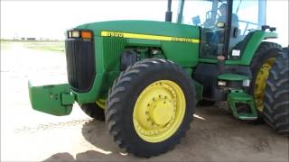 1998 John Deere 8400 MFWD tractor for sale | sold at auction May 8, 2013