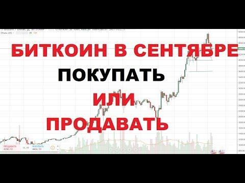 Обзор Биткоина на Сентябрь. Покупать или Продавать Bitcoin.