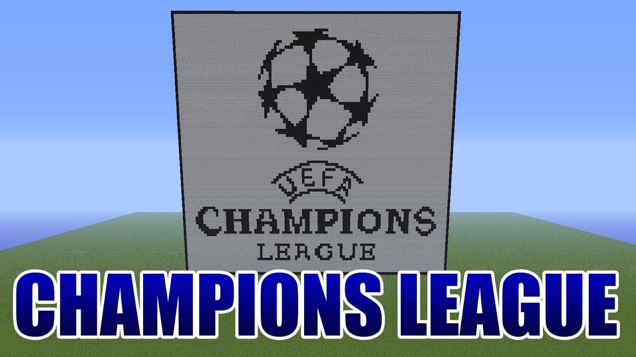 Uefa Champions League Logo Pixel Art Minecraft