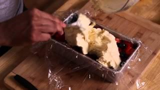Patriotic Ice Cream Cake : Ice Cream Cake Recipes