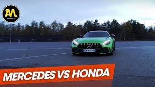 Duel : Mercedes AMG GT R vs. Honda NSX